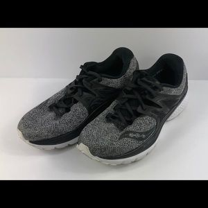 Saucony Shoes - Saucony Triumph ISO 3 Running Shoes Black Gray